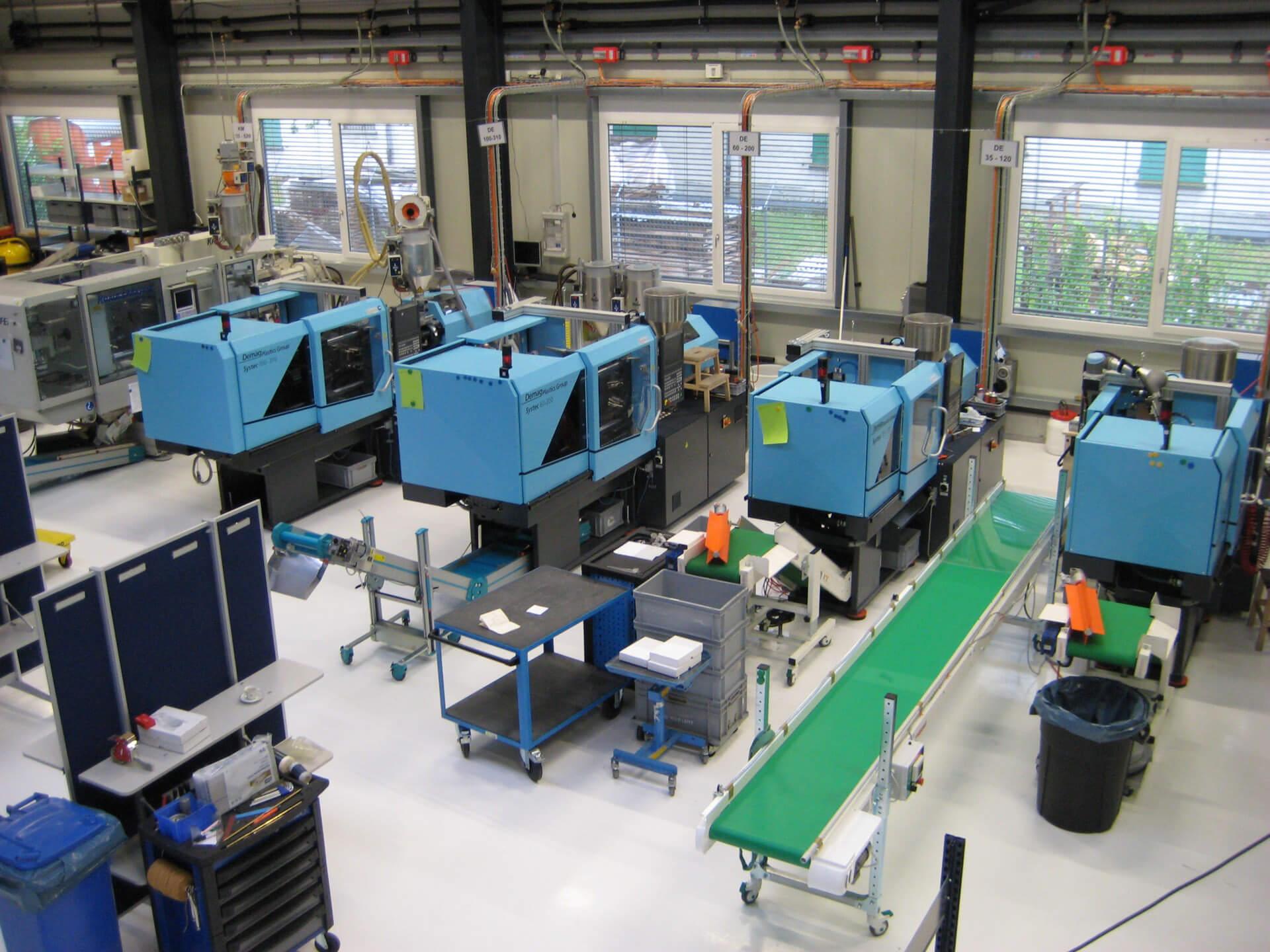 Profatec AG | Profitable production in Switzerland 2